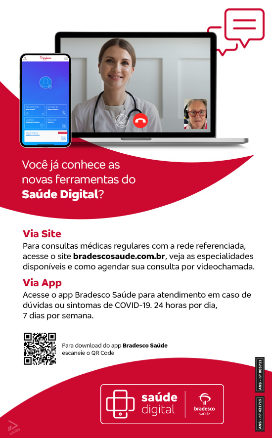 Novidade Bradesco Saúde